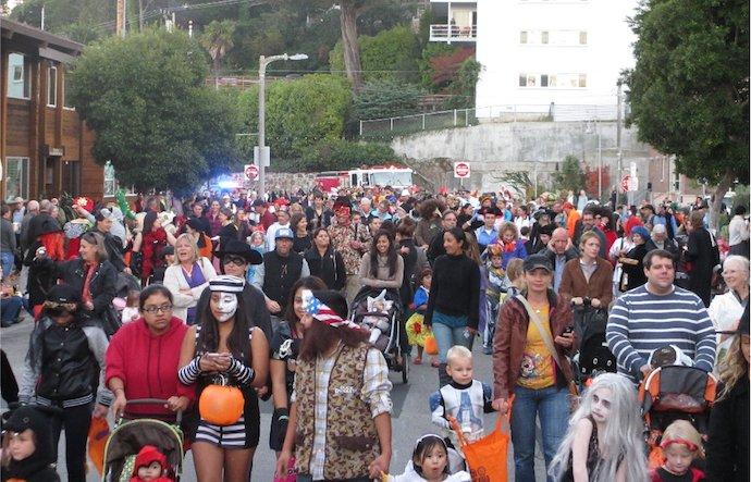Sausalito Halloween 2021